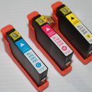 3 x High Yield Color Ink Cartridge 31-32-33-34 C M Y for Dell V525 V725w Printer