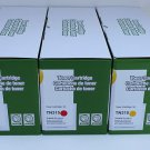 Cyan Magenta Yellow 3 Toner TN-315/310 Brother HL-4150 4570 MFC-9460 9560 9970