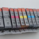 New Lots of 10 x PGI-225 CLI-226 Ink Cartridge f Canon iP4820 ix6520