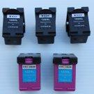 3B+2C ink 122XL CH653HE CH654HE for HP DeskJet 1050 2050 F2483 F2488 F2492 F2493