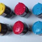 6 x Color Toner Cartridge 300A for Samsung CLP-300 300N CLX-2160 3160FN Printer