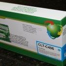 Cyan Toner Cartridge CLT-C406s for Samsung CLP365 CLX-3305 C410 Series Printer
