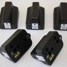 New 5 x HP02 Black ink Cartridge for HP PhotoSmart 5150 5180 6150 6180 7150 7250