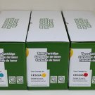 3 x Pack Toner Cartridge For HP CE321A CE322A CE323A 128A