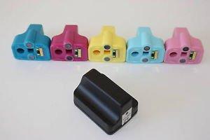 12 Set 72 Ink Cartridge HP02 for HP C5150 C5180 C5183 C5188 C5190 C6150 C6180