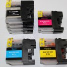 10 Ink Cartridge LC103 XL for Brother DCP-J450DW J470DW J475DWJ650DW J870DW