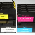 Lots of 16 200XL ink for Lexmark OfficeEdge Pro 4000 5000 5500T High Yield