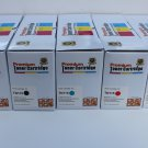 HiY 2 Black+3 Color Toner TN-115-110 for Brother HL-4040 4050 4070 MFC-9440 9450