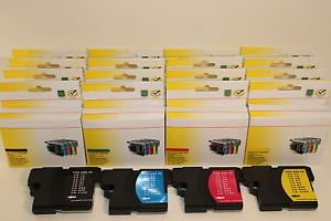 Lots of 24 Ink Cartridge LC61 Brother MFC-J220 J265w J410w J415