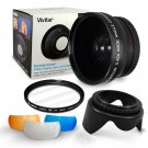 New 58MM Wide Angle Fisheye Lens & UV Filter for Canon EOS 700D 650D 600D