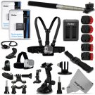 15 in 1 PRO Accessory Mounts and Battery Kit for GOPRO Hero4 Camera Accessories