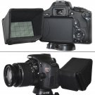 New LCD Hood Screen Sun Shield for DSLR Canon Rebel T5i T4i T3i EOS 700D 650D