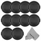 52MM Lens Cap Cover for Nikon D7000 D5100 D5000 D3100 D3000 18-55mm - 10 PCS