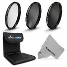 62MM UV ND 4 CPL Polarizing Lens Filter Kit for Tamron 18-250 70-300 18-270mm