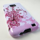 Pink Sakura Flower Hard Case Cover  Samsung Galaxy S Ii 2 I777 I9100