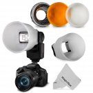 New Universal Cloud Lambency Flash Diffuser and Cover Set for Flash
