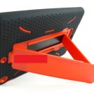 For Apple IPAD Mini Rugged Armor Impact  Black & Red Case Cover - Stylus