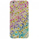 New White Watercolor Flowers Iphone 6 & 6 Plus Snap-On Case Cover Stylus