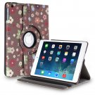 New Flower-Cartoon iPad Air 5 4 3 2 & iPad Mini PU Leather Case Smart Cover Stand