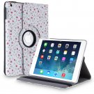 New Flower-Rose iPad Air 5 4 3 2 & iPad Mini PU Leather Case Smart Cover Stand