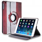New Flag-CA iPad Air 4 3 2 & iPad Mini PU Leather Case Smart Cover Stand