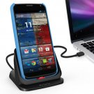 Ultra-thin Desktop Charger Cradle AC USB Wall Dock For Motorola Moto X