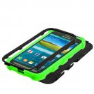 Black Green Shock Proof Tuff Case Cover For Samsung Galaxy S V 5 S5 Active