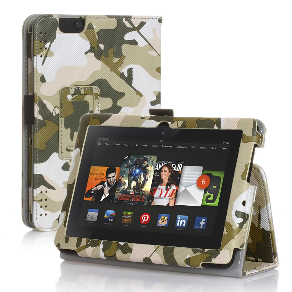 new camouflage green kindle fire hd 7 2nd 2013 2013 pu