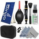 Lens Cleaning Kit Purosol,MagicFiber Cloth & Carrying Case for Digital Camera