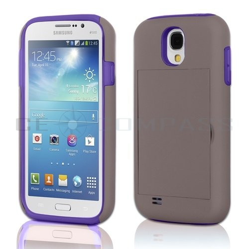 Credit Card Hard Shell Stand bo Case Cover For Samsung