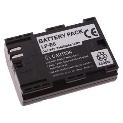 New Battery for Canon LP-E6 LC-E6 5D 7D Mark II 2
