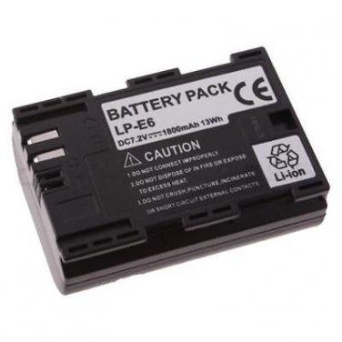 New Battery for Canon LP-E6 LC-E6 5D 7D Mark II 2