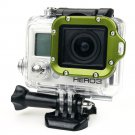 Aluminum Lanyard Lens Ring Mount,Screwdriver for Gopro HD Hero 3 Camera Green