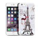 New Deer-Tower iPhone 6 4.7-6 Plus 5.5 Hard Snap-on Case Cover-Screen Protectors