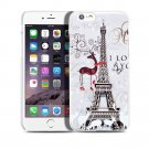 New Eiffel Tower Paris Deer Cute iPhone 6 4.7-6 Plus 5.5 Case Cover-Screen Protectors