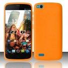 New Orange Basic Soft Silicone Rubber Gel Skin Case Cover Stylus Pen