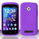 New Purple Basic Soft Silicone Rubber Gel Skin Case Cover Stylus Pen