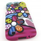 New Bizarre Cartoon Flowers Hard Case Cover Samsung Galaxy S IV 4 S4 Active I537