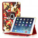 New Camouflage Camo Yellow iPad Air 5 5th Gen Case Smart Cover Stand