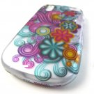 Wild Flower Waves Hard Shell Snap-On Case Cover Pantech Hotshot Phone Accessory