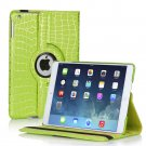 New Green Cracking Lines iPad Air 5 5th Gen Case Smart Cover Stand