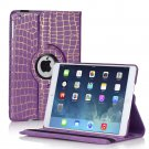 New Purple Cracking Lines iPad Air 5 5th Gen Case Smart Cover Stand