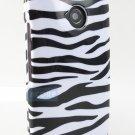 New White Zebra Skin Moto X G E Design Snap-On Case Covers Stylus