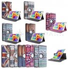 "For Samsung Galaxy Tab S 8.4"" T700 Tablet Rotating Smart PU Leather Case Cover"