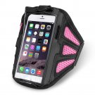 New Pink Gym Sport Running Armband Case Cover For iPhone 6 4.7 & 6 Plus 5.5
