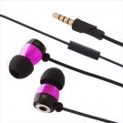 New 3.5mm Earphone Earbud In-Ear Headphone,Mic for Mobile Phone MP3 MP4