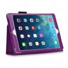 New Purple Slim PU Leather Case Cover For Apple iPad 1 1st Generation