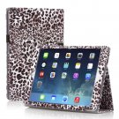 New Leopard Brown Slim PU Leather Case Cover For Apple iPad 1 1st Gen