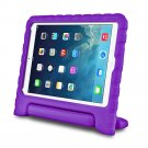 Purple Kids Safe Thick Protective Handle Stand Case For iPad Air Mini