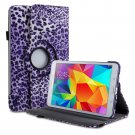 New Leopard Purple Samsung Galaxy Tab S 10.5 Tablet PU Leather Case Cover Stand